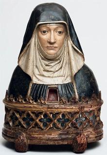 Reliquary bust, ca. 1500
