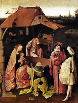 Epiphany by H. Bosch.